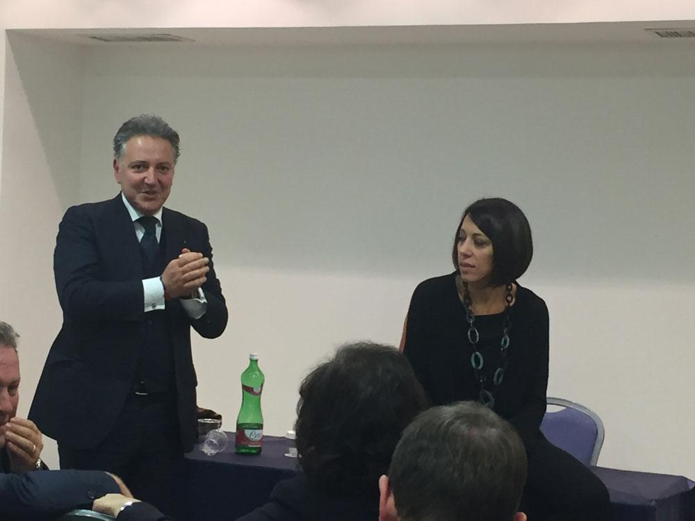 DE GIROLAMO COMMISSARIO DI FI IN MOLISE: IL SALUTO DI MICHELE MARONE