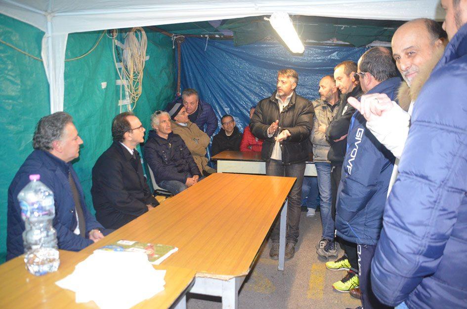 Marone e Parisi hanno incontrato i dipendenti dello Zuccherificio del Molise